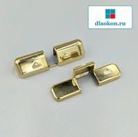 Накладки на средний прижим золото глянец Roto